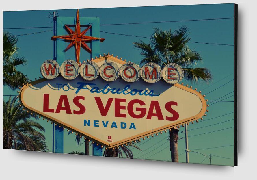 Las Vegas de Aliss ART Zoom Alu Dibond Image