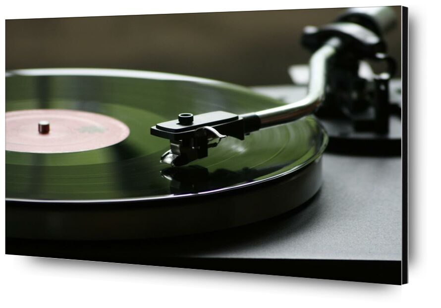 الفينيل from Aliss ART, Prodi Art, bright, mono, vinyl, turntable, sound, round, record, play, data