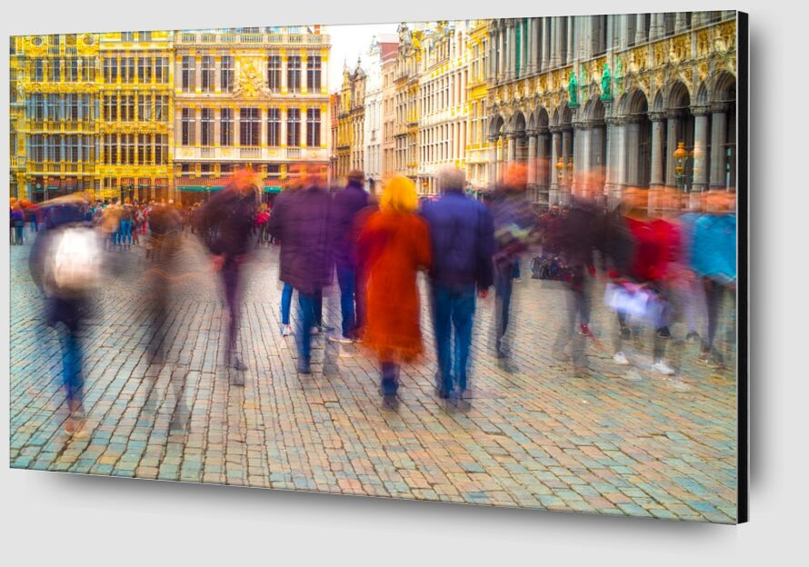 Fantômes Urbains de Pierre Rousseau Zoom Alu Dibond Image