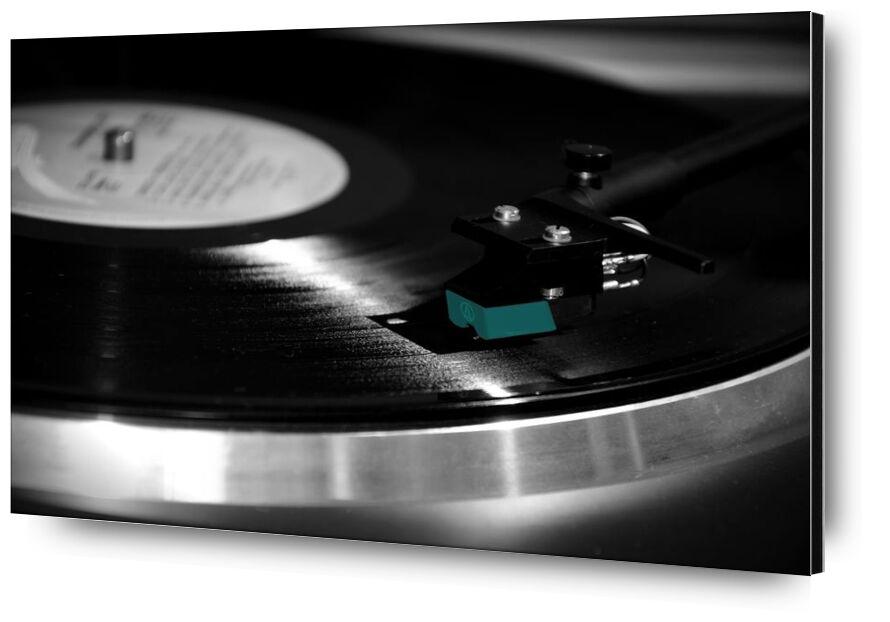 Vinyl head from Aliss ART, Prodi Art, vinyl, technology, record, phonograph record, inside, close-up, black