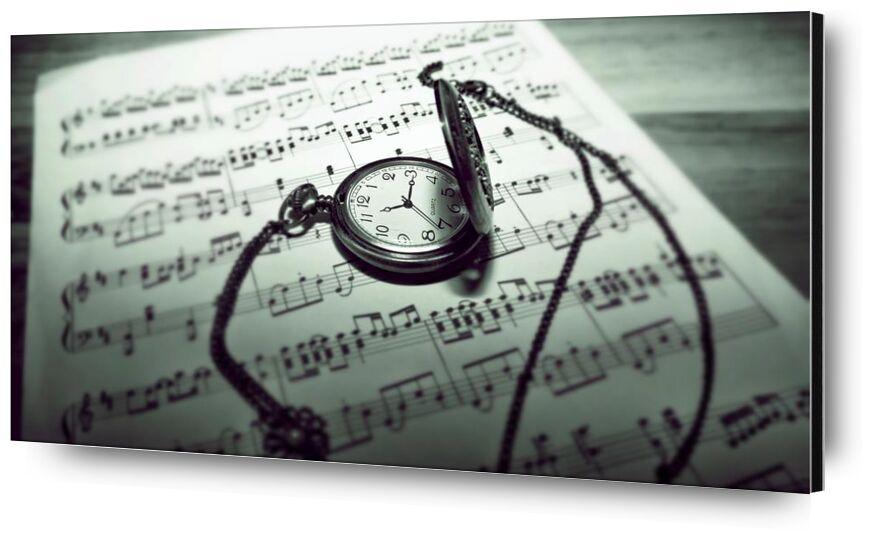 Temps musical de Aliss ART, Prodi Art, timer, acier inoxydable, notes de musique, composition musicale, partition, orientation, images libres de droits, brut, temps, nature morte, montre de poche, papier, concentrer, composition, classique, noir et blanc, antique