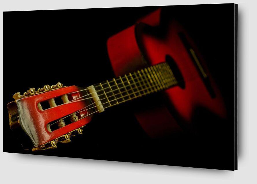 Instrument à cordes de Aliss ART Zoom Alu Dibond Image