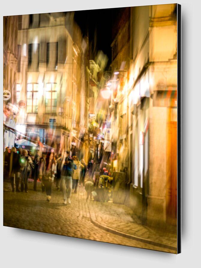 Vie nocturne de Pierre Rousseau Zoom Alu Dibond Image
