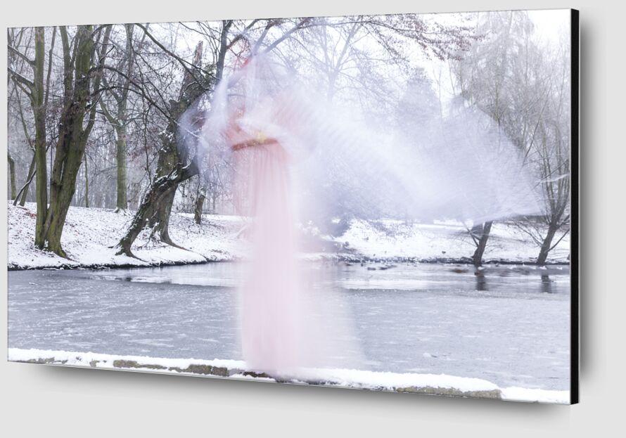 Un Ange sur mon chemin de Eric-Anne Jordan-Wauthier Zoom Alu Dibond Image