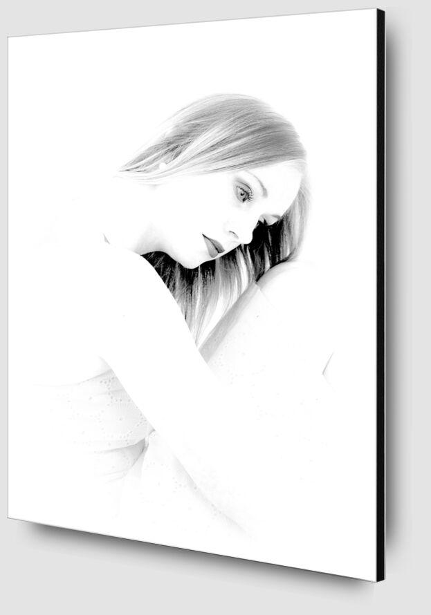 La mélancolie de Eric-Anne Jordan-Wauthier Zoom Alu Dibond Image