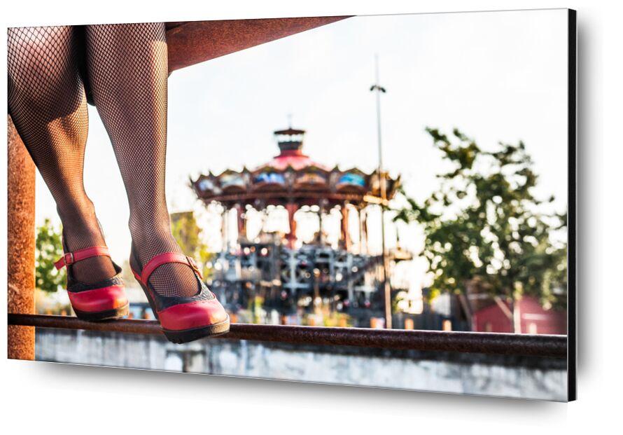 Art H Pied de Marie Guibouin, Prodi Art, industriel, art h pied, marie guibouin, nantes, machines de l'ile, nature, rouille, rouge, Marin, carrousel, chaussures