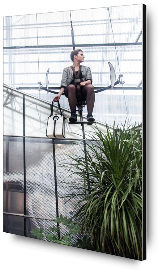 La Voilière de Marie Guibouin, Prodi Art, galerie, femme, voile, bateau, machines de l'ile, recyclage, plantes, marie guibouin, nantes, la voiliere