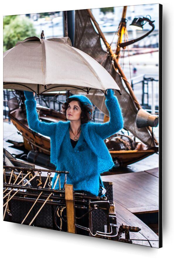 Chez Pascale from Marie Guibouin, Prodi Art, carousel, marine, woman, boat, island machines, nantes, marie guibouin, pascale chevrot
