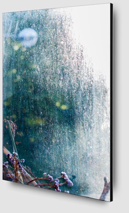 Bulle de lumière de Marie Guibouin Zoom Alu Dibond Image