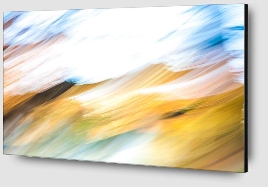 En Vague D'Automne de Julien Replat Zoom Alu Dibond Image