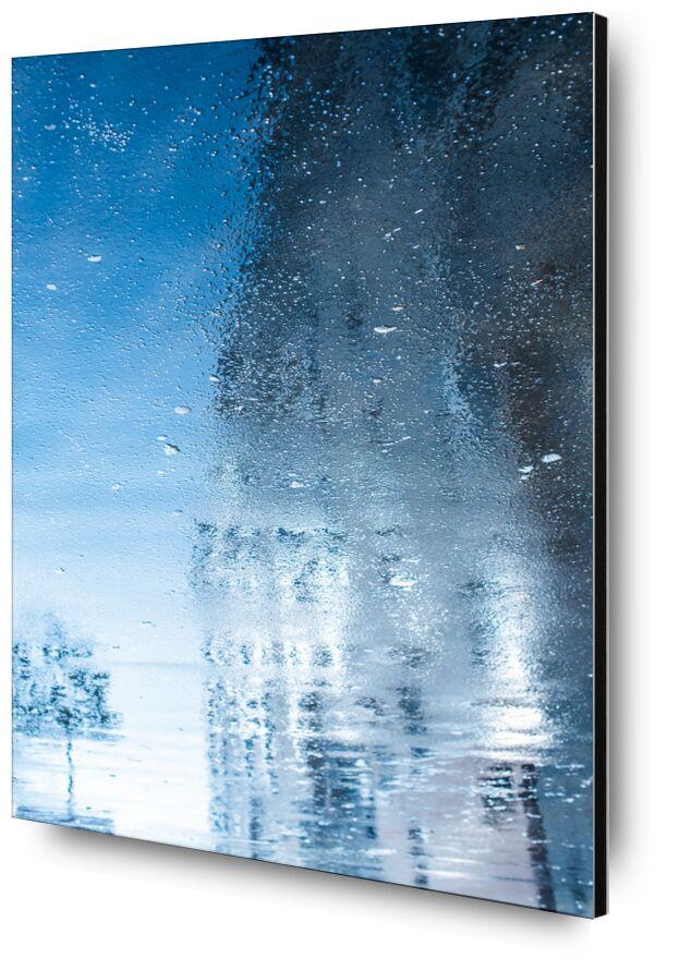 Réflexion reflection de Marie Guibouin, Prodi Art, photo urbaine, arbre, eau, peinture, abstrait, Urbain, ville, reflet, réflexion