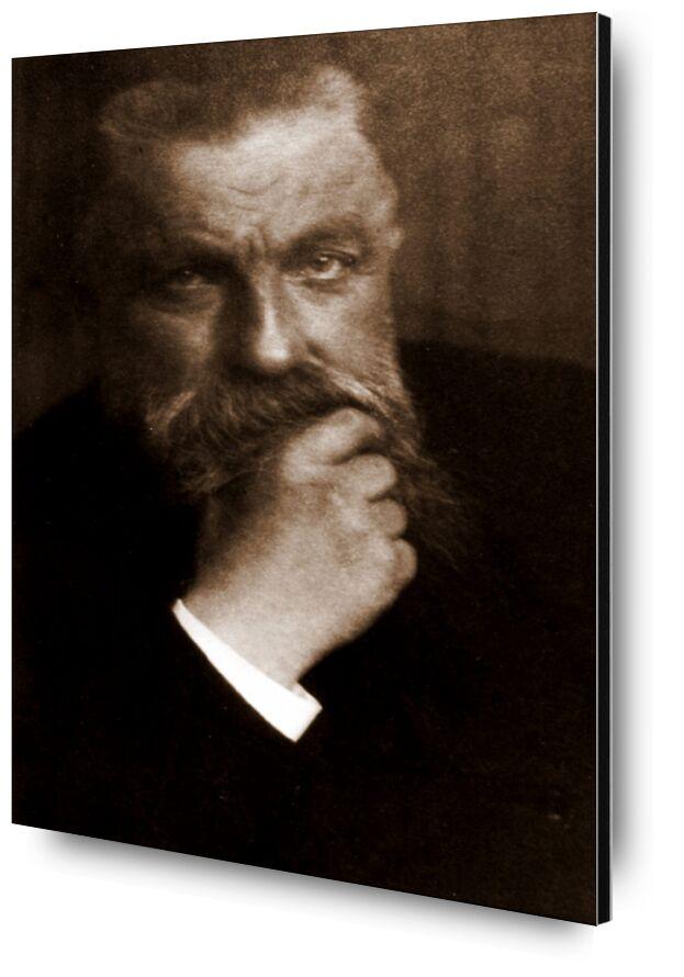 Auguste Rodin - Edward Steichen 1902 from AUX BEAUX-ARTS, Prodi Art, photo, old photo, edward steichen, Rodin, Auguste Rodin, beard, photo d'art