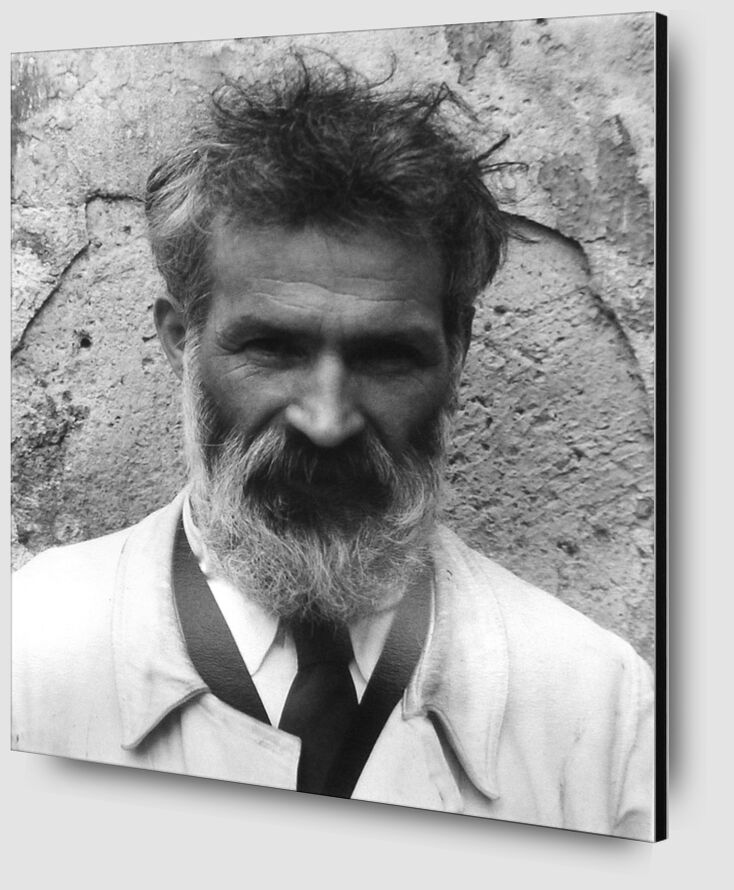 Brancusi in his workshop - Edward Steichen 1922 from AUX BEAUX-ARTS Zoom Alu Dibond Image