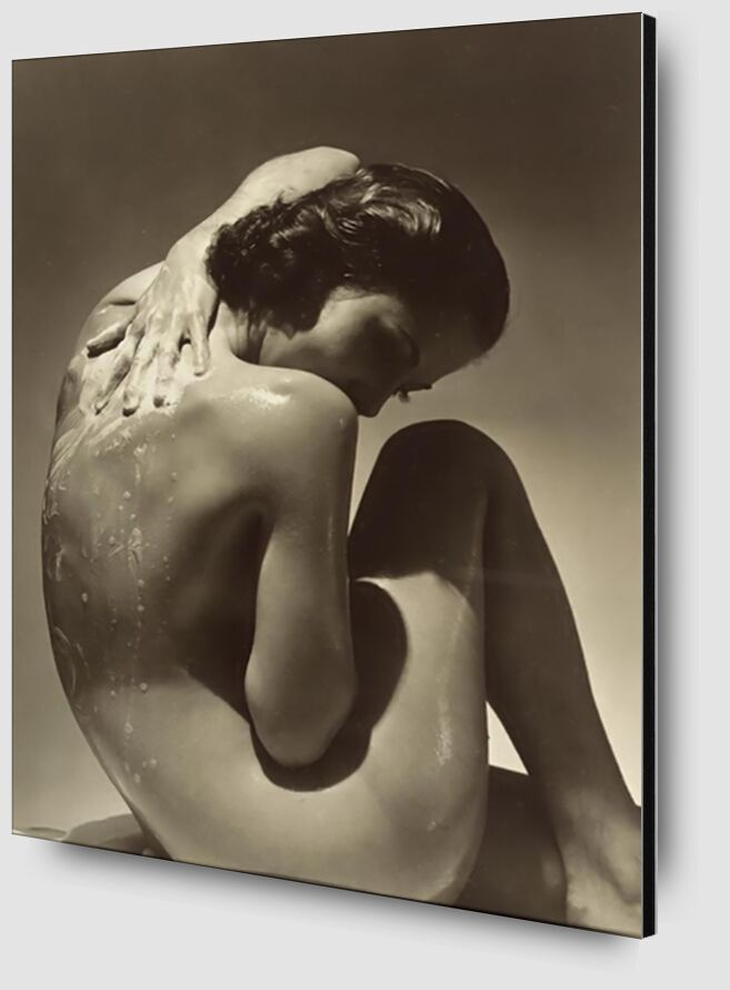 Back - Edward Steichen 1923 desde AUX BEAUX-ARTS Zoom Alu Dibond Image