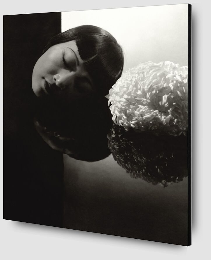 Confession à Hollywood  Anna May Wong - Edward Steichen 1931 de Aux Beaux-Arts Zoom Alu Dibond Image