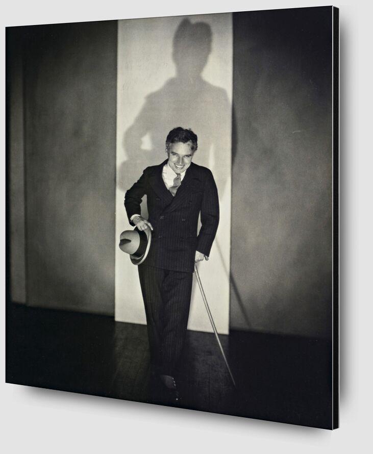 Charlie Chaplin - Edward Steichen 1925 from AUX BEAUX-ARTS Zoom Alu Dibond Image