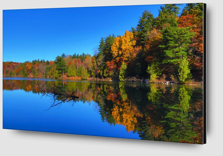 Canada de Cyril Jourdan Zoom Alu Dibond Image