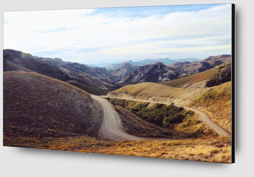 La Patagonie de Cyril Jourdan Zoom Alu Dibond Image