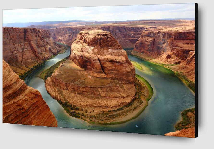 Canyon from Aliss ART Zoom Alu Dibond Image