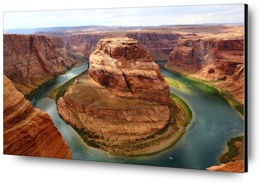 Canyon from Aliss ART, Prodi Art, canyon, cliff, curve, desert, geology, landscape, outdoors, remote, River, rock, sandstone, scenic, travel, valley, water, erosion, famous, horseshoe, horseshoe bend, reservoir