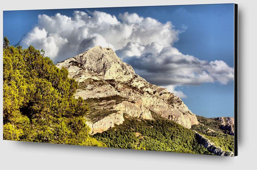 Montagne de la Sainte Victoire de Frédéric Traversari Zoom Alu Dibond Image