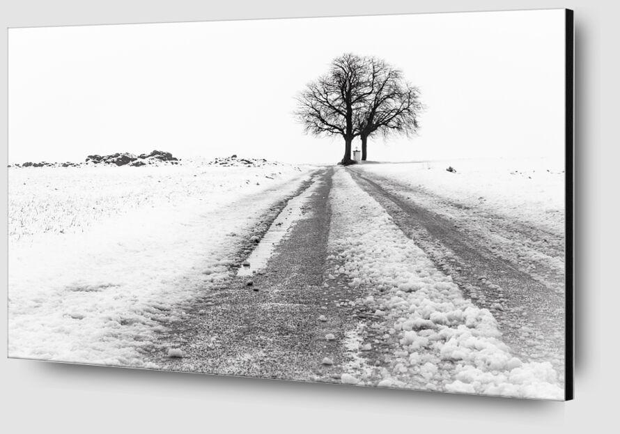 La Fin du Chemin de Eric-Anne Jordan-Wauthier Zoom Alu Dibond Image