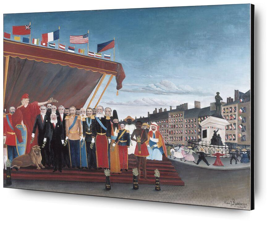 les représentants des puissances étrangères de Aux Beaux-Arts, Prodi Art, puissances étrangères, Pays, peinture, ville, Rousseau