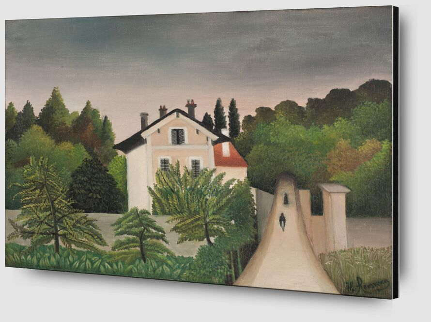 Paysage pris sur les bords de l'Oise, territoire de Chaponval de Aux Beaux-Arts Zoom Alu Dibond Image