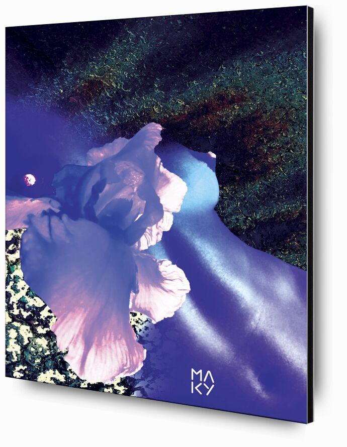 気1.1 de Maky Art, Prodi Art, corps, fleurs, texture, l'art visuel, collage numérique, art numérique