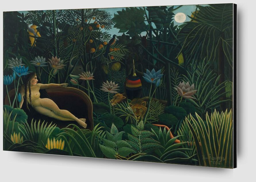 Le rêve de Aux Beaux-Arts Zoom Alu Dibond Image