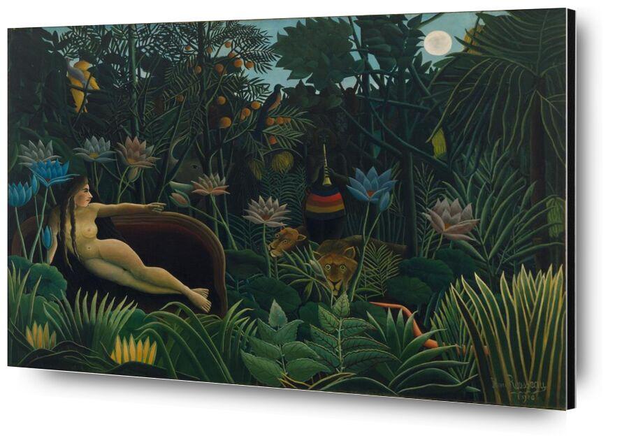 Le rêve de Aux Beaux-Arts, Prodi Art, forêt, sauvage, nuit, lune, Rousseau, jungle, rêve