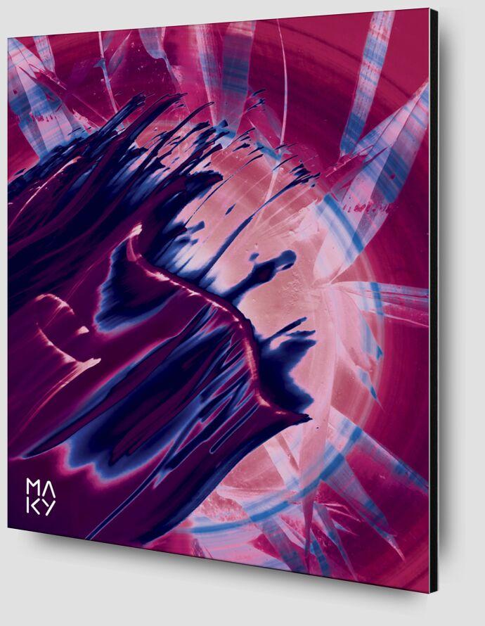 気5.3 from Maky Art Zoom Alu Dibond Image