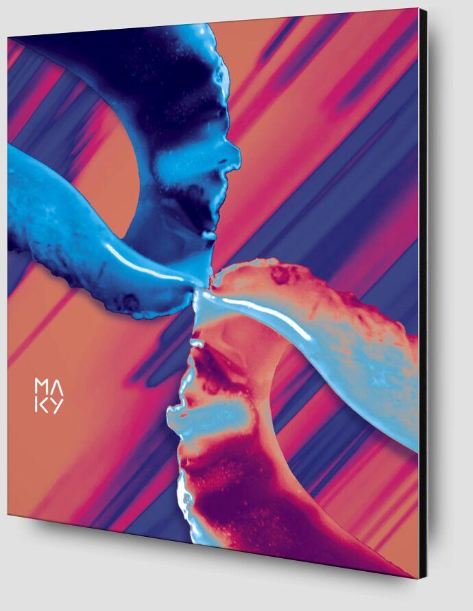 気6.1 from Maky Art Zoom Alu Dibond Image