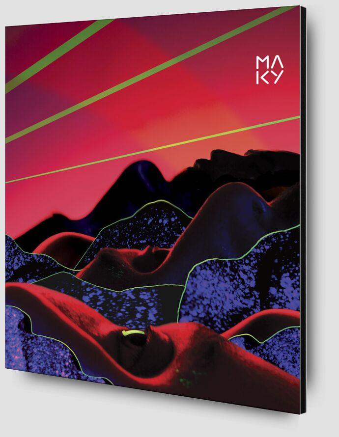気6.3 from Maky Art Zoom Alu Dibond Image