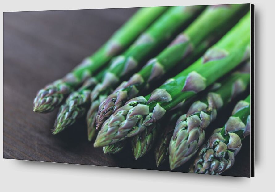Our asparagus from Pierre Gaultier Zoom Alu Dibond Image