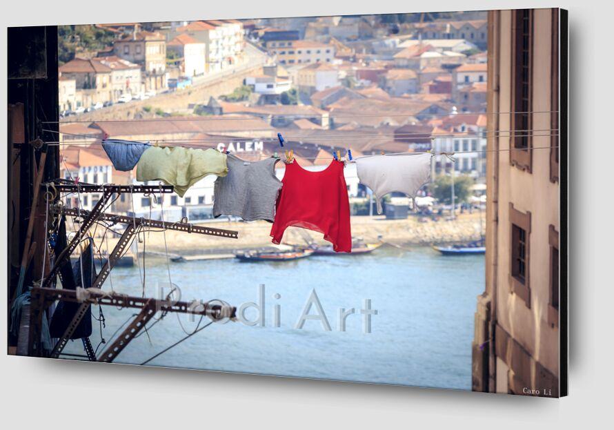 The Life - Porto de Caro Li Zoom Alu Dibond Image