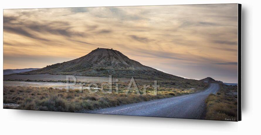 Mystery Road de Caro Li, Prodi Art, paysage, paysage, désert, route