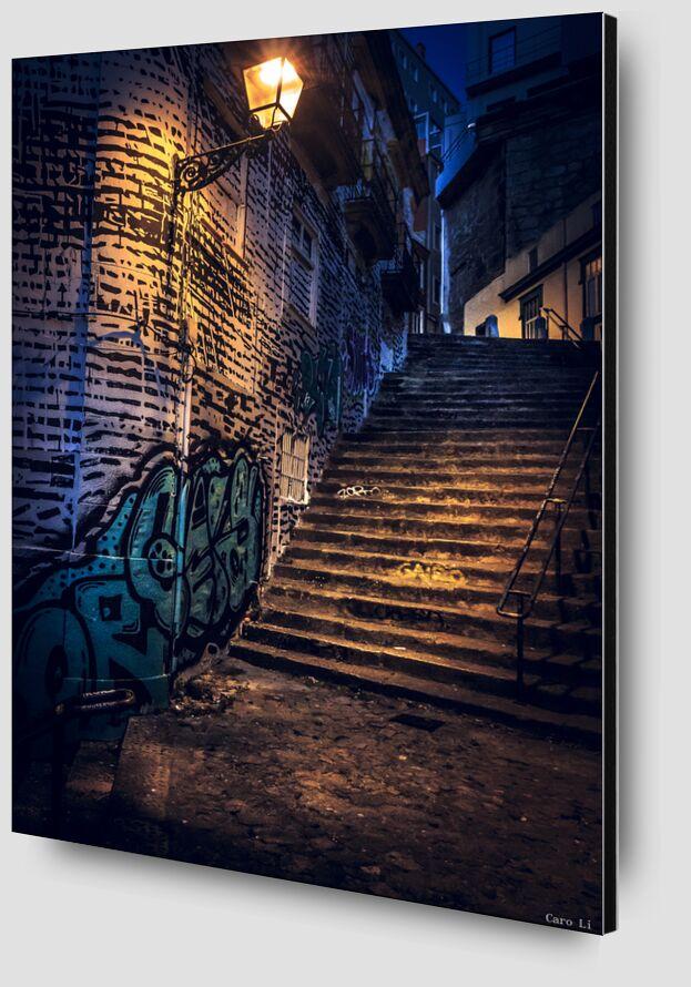 Staircase de Caro Li Zoom Alu Dibond Image