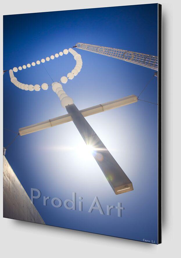 The Cross from Caro Li Zoom Alu Dibond Image