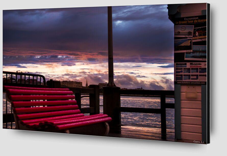 The Bench from Caro Li Zoom Alu Dibond Image