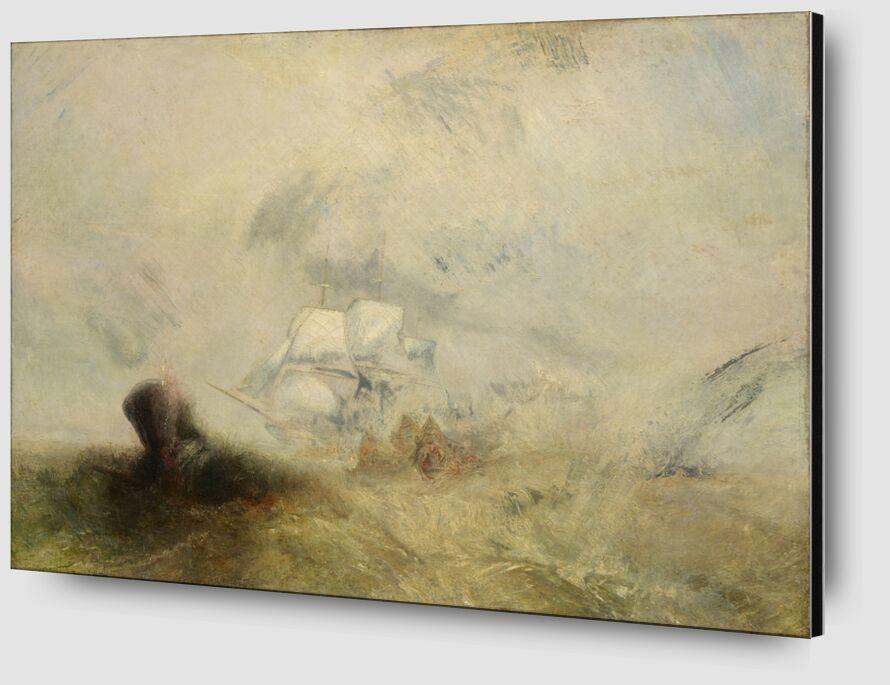 Whalers - WILLIAM TURNER 1840 desde AUX BEAUX-ARTS Zoom Alu Dibond Image