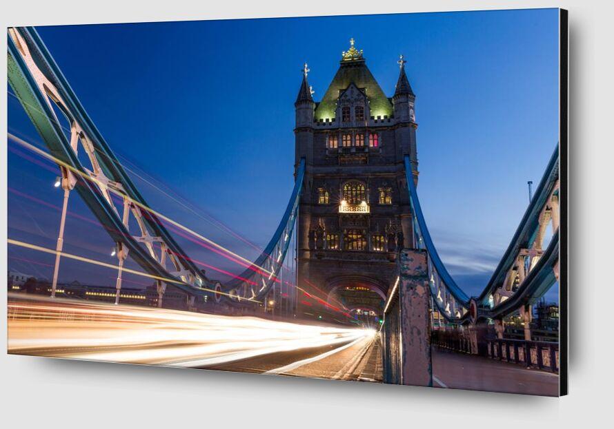 Pont de la tour de Aliss ART Zoom Alu Dibond Image