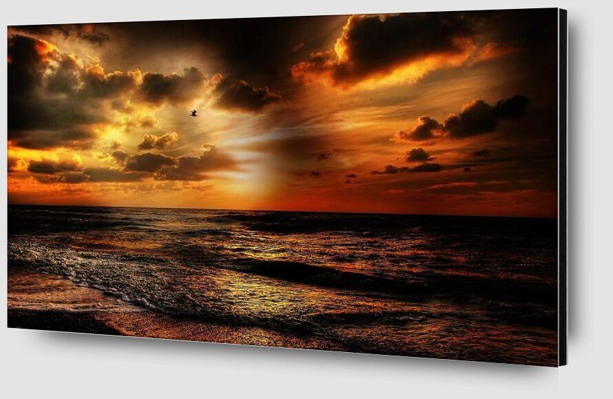 Intense light from Pierre Gaultier Zoom Alu Dibond Image