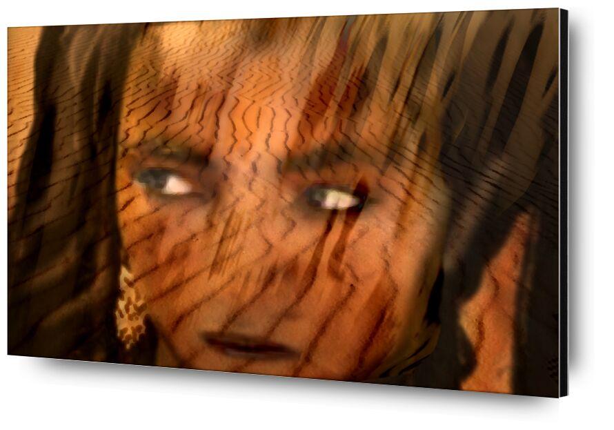 Look from the desert from Adam da Silva, Prodi Art, Arab, Bedouin woman, nomads, tourism, veiled, sail, Home, braid of wood, hot, residents, camp, Bedouin, Morocco, dune, adventure, sahara, touareg, woman, sand, Sun, desert, africa, nature
