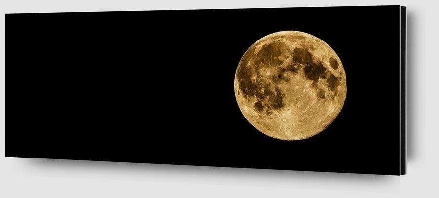 Full moon from Pierre Gaultier Zoom Alu Dibond Image