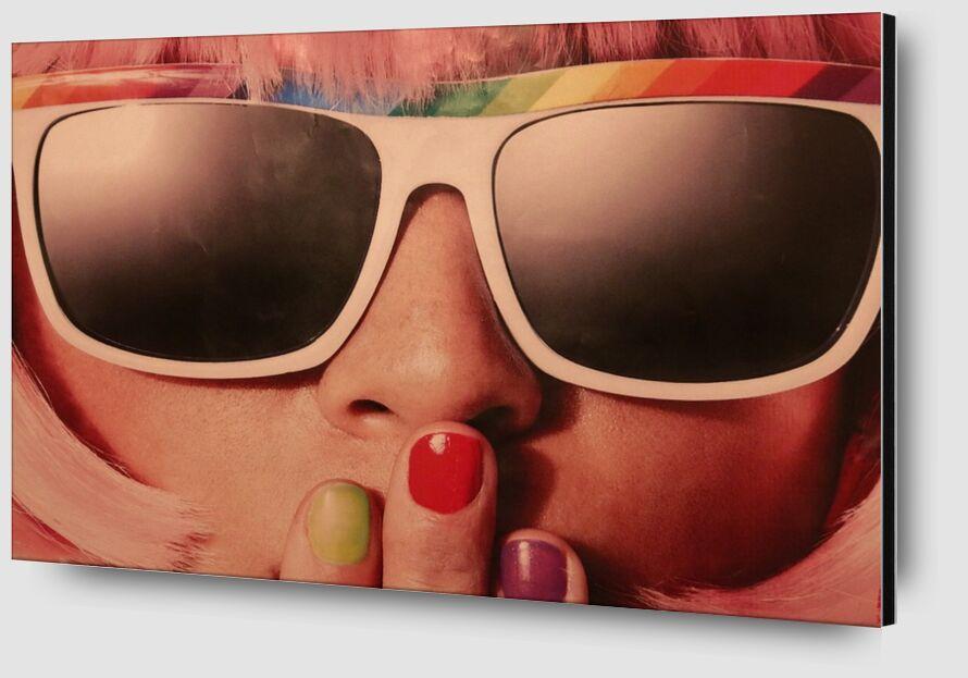 Carnaval rétro de Pierre Gaultier Zoom Alu Dibond Image