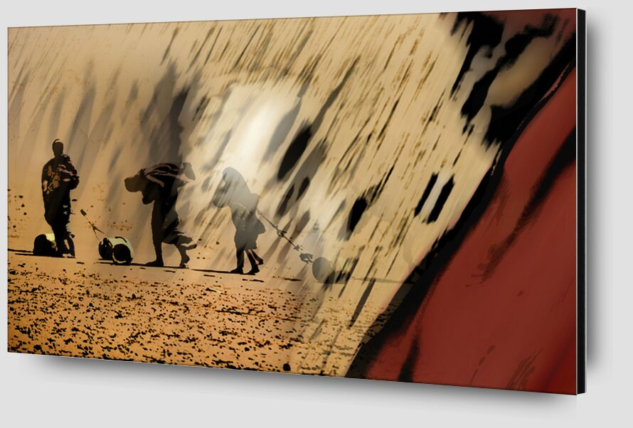 Reality from Adam da Silva Zoom Alu Dibond Image