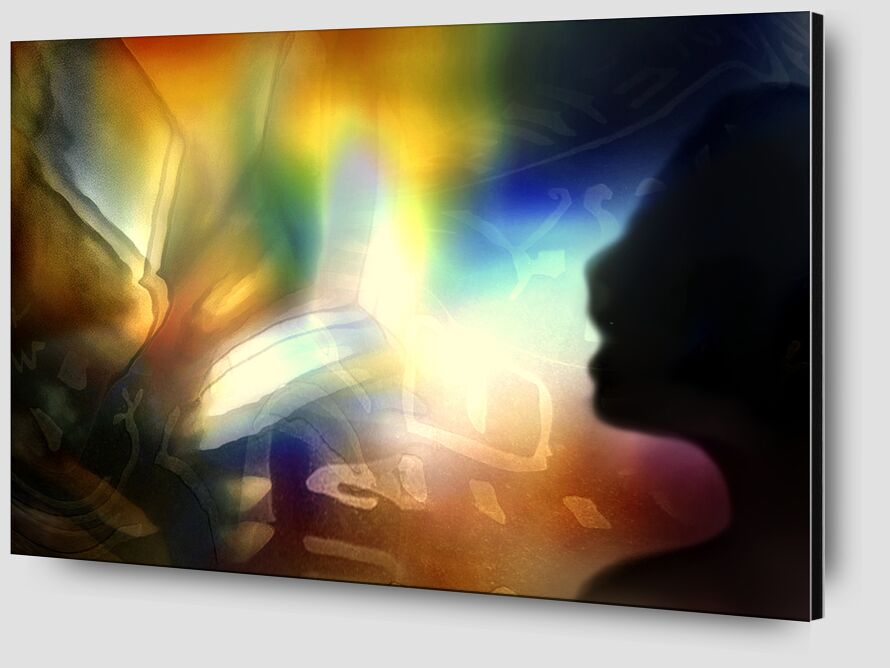 Conjugation of the senses from Adam da Silva Zoom Alu Dibond Image
