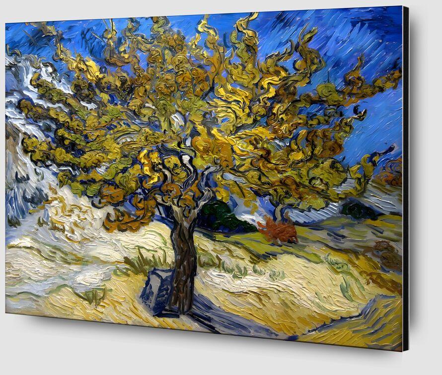Mulberry Tree at  Saint-Rémy - 1889 VINCENT VAN GOGH desde AUX BEAUX-ARTS Zoom Alu Dibond Image