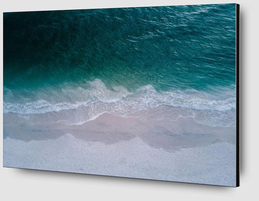La beauté de la mer de Aliss ART Zoom Alu Dibond Image